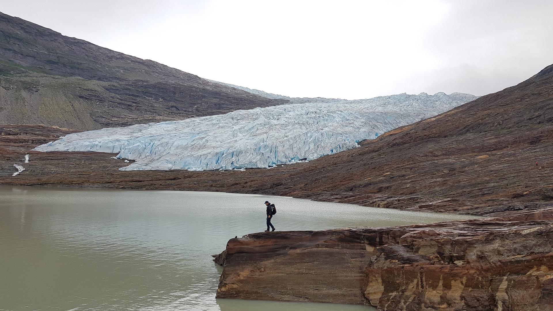 Svartisen Gletscher Norwegen