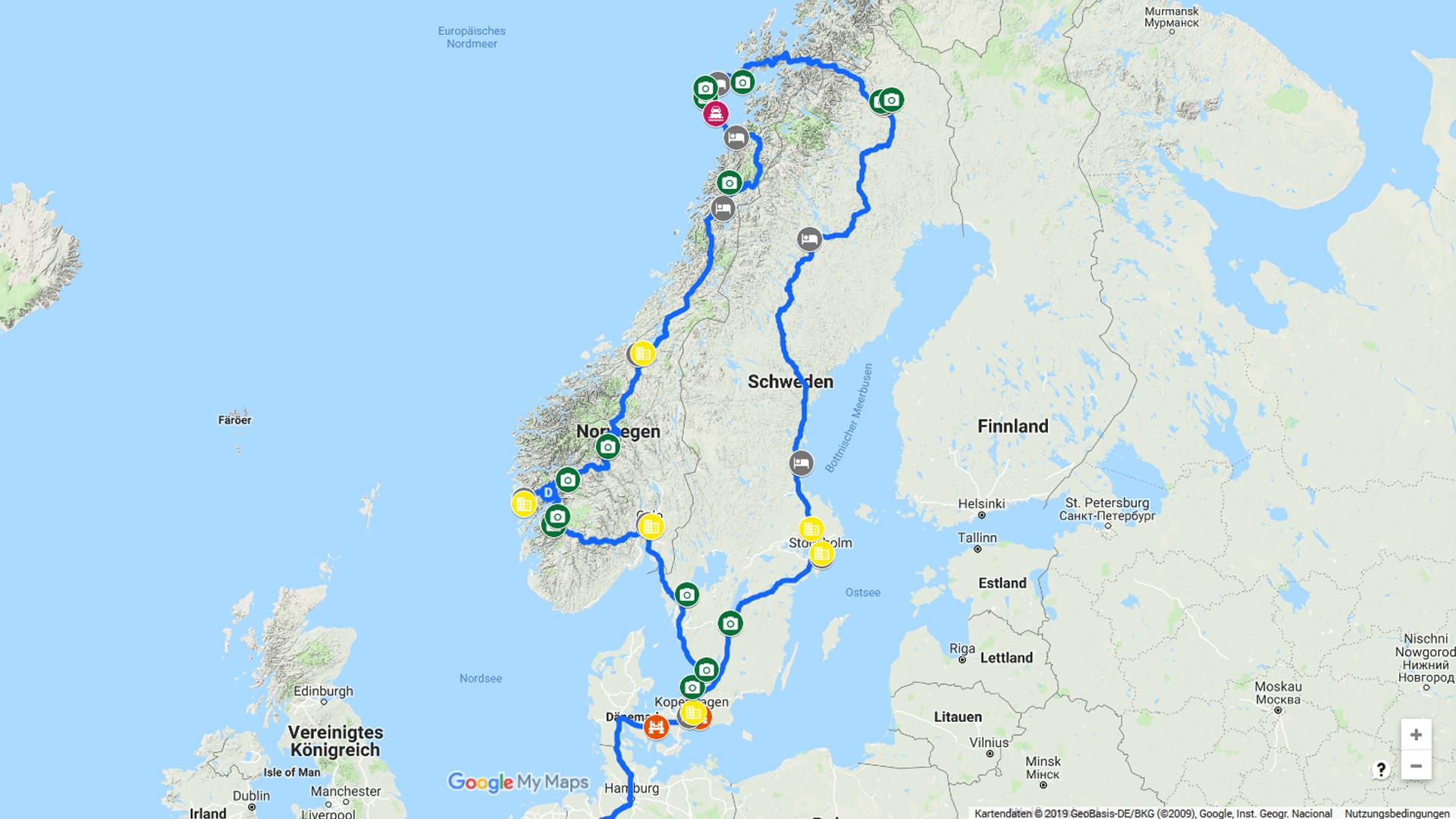 Skandinavien-8000