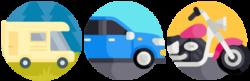 Mit-Fahrzeug